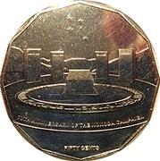 50 Cents - Elizabeth II (70th Anniversary of the Kokoda Trail) -  reverse