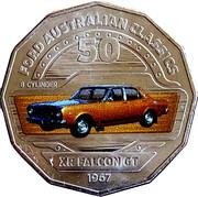 50 Cents - Elizabeth II (Ford XR Falcon GT) -  reverse