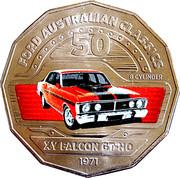 50 Cents - Elizabeth II (Ford XY Falcon GT-HO) -  reverse