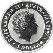 1 Dollar - Elizabeth II (4th Portrait - Koala - Silver Bullion Coin) -  obverse
