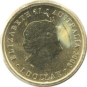 1 Dollar - Elizabeth II (Australian Sea Lion) -  obverse