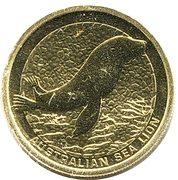 1 Dollar - Elizabeth II (Australian Sea Lion) -  reverse