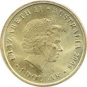 1 Dollar - Elizabeth II (Ghost Bat) -  obverse