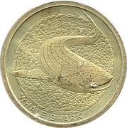 1 Dollar - Elizabeth II (Whale Shark) -  reverse