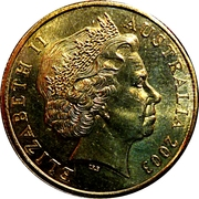 1 Dollar - Elizabeth II (4th Portrait - Women's Suffrage) -  obverse