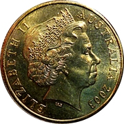 1 Dollar - Elizabeth II (4th Portrait - Australia's Vietnam Forces) -  obverse