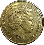 1 Dollar - Elizabeth II (4th Portrait - Gallipoli) -  obverse