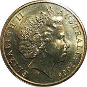 1 Dollar - Elizabeth II (4th Portrait - XVIII Commonwealth Games Melbourne 2006) -  obverse
