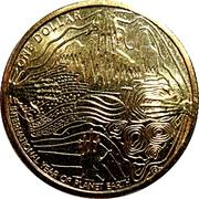 1 Dollar - Elizabeth II (4th Portrait - International Year of Planet Earth) -  reverse