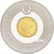 1 Dollar - Elizabeth II (Sydney Mint Sovereign) -  obverse