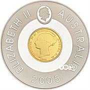 1 Dollar - Elizabeth II (Sydney Mint Sovereign) -  obverse