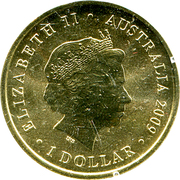 1 Dollar - Elizabeth II (4th portrait; Year of Astronomy) -  obverse