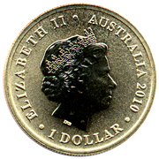 1 Dollar - Elizabeth II (4th portrait; ANZAC Day, Navy) -  obverse