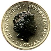 1 Dollar - Elizabeth II (4th portrait; ANZAC Day, Navy) -  obverse