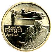 1 Dollar - Elizabeth II (ANZAC Day, RAAF) -  reverse