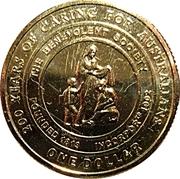 1 Dollar - Elizabeth II (The Benevolent Society) -  reverse