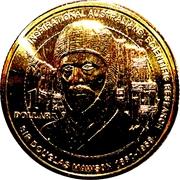 1 Dollar - Elizabeth II (4th Portrait - Inspirational Australians - Sir Douglas Mawson) -  reverse