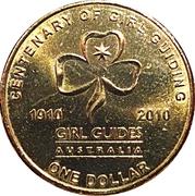 1 Dollar - Elizabeth II (4th Portrait - Girl Guiding) -  reverse