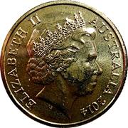 1 Dollar - Elizabeth II (4th Portrait - 100 Years of ANZAC) -  obverse