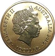 1 Dollar - Elizabeth II (Alphabet Collection - Letter H) -  obverse