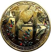 1 Dollar - Elizabeth II (Alphabet Collection - Letter H) -  reverse