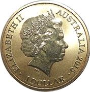 1 Dollar - Elizabeth II (4th Portrait - Alphabet Collection - Letter P) -  obverse