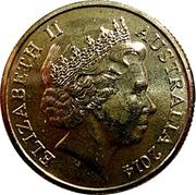 1 Dollar - Elizabeth II (4th Portrait - G for George) -  obverse