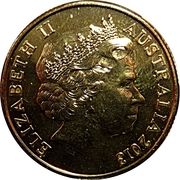 1 Dollar - Elizabeth II (4th Portrait - Inspirational Australians - Slim Dusty) – obverse