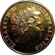 1 Dollar - Elizabeth II (4th Portrait - Mining Australia) -  obverse