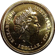1 Dollar - Elizabeth II (4th Portrait - Bicentenary of the Holey Dollar & Dump) -  obverse