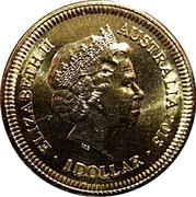 1 Dollar - Elizabeth II (4th Portrait - Bicentenary of the Holey Dollar & Dump) -  obverse