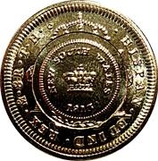 1 Dollar - Elizabeth II (4th Portrait - Bicentenary of the Holey Dollar & Dump) -  reverse