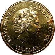 1 Dollar - Elizabeth II (4th Portrait - 60th Anniversary of the Korean War) -  obverse