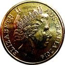 1 Dollar - Elizabeth II (4th Portrait - Clever Australia) – obverse
