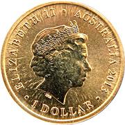 1 Dollar - Elizabeth II (Bush Babies II Series - Possum) -  obverse