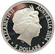 5 Dollars - Elizabeth II (Steam Railways) -  obverse