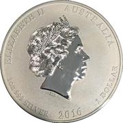 1 Dollar - Elizabeth II (Five Blessings) -  obverse