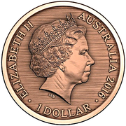 1 Dollar - Elizabeth II (When This you See, Remember Me) -  obverse
