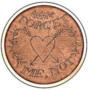 1 Dollar - Elizabeth II (Forget Me, Not) -  reverse