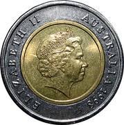 5 Dollars - Elizabeth II (Royal Flying Doctor Service) -  obverse