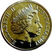 1 Dollar - Elizabeth II (Century of the Battle of Beersheba) -  obverse