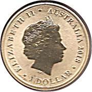 1 Dollar - Elizabeth II (Macquarie Lighthouse) -  obverse