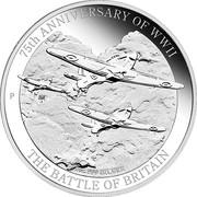 1 Dollar - Elizabeth II (4th Portrait - 75th Anniversary of WWII) -  reverse