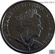 5 Cents - Elizabeth II (6th portrait) -  obverse