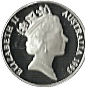 10 Dollars - Elizabeth II (Palm Cockatoo) -  obverse