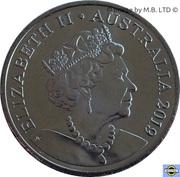 20 Cents - Elizabeth II (6th portrait) -  obverse