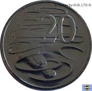 20 Cents - Elizabeth II (6th portrait) -  reverse