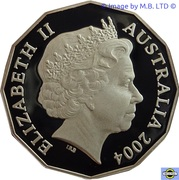 50 Cents - Elizabeth II (4th Portrait - Student Design - Silver Proof) -  obverse