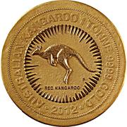 """1 000 000 Dollars - Elizabeth II (""""Kangaroo"""" Gold Bullion Coinage) -  reverse"""