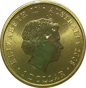 1 Dollar - Elizabeth II (4th Portrait - 2008 Olympic Games Beijing) -  obverse